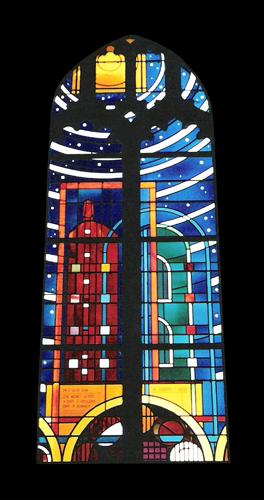 Kapel Van Celstinstituut  raam 1 mail