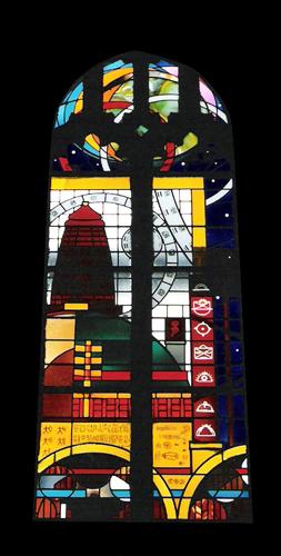 Kapel Van Celstinstituut raam 4 mail